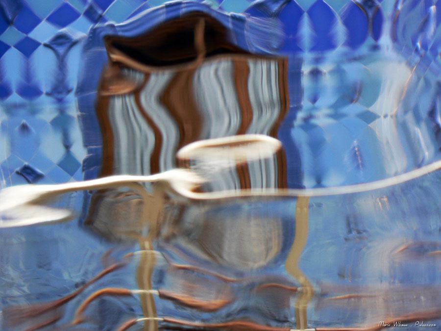Photo architecture gaudi barcelone