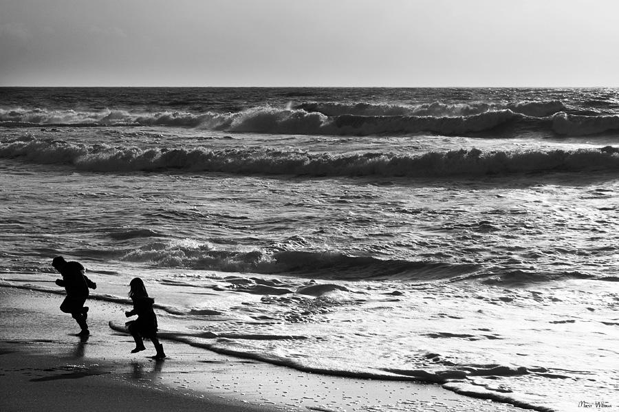 Jeu d'enfant sur la plage