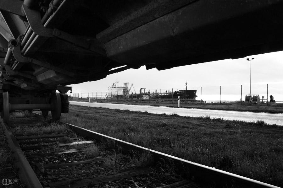 chemin de fer, train et cargo à Saint Nazaire