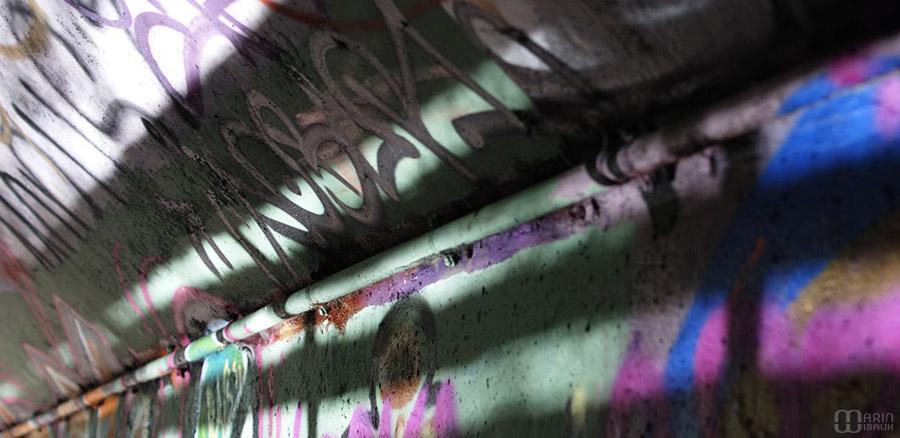 Graffiti comme vitrail
