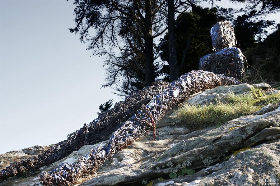 Sculpture sauvage : dévoreuse de sirènes de Patrice Marc More