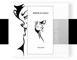 Recueil de dessins et poésie amoureuse