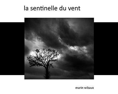 Recueil de poésie et photo noir et blanc : la sentinelle du vent